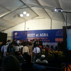 opening reception of the meet at agra fair