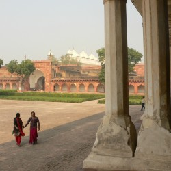 short break at the red fort agra